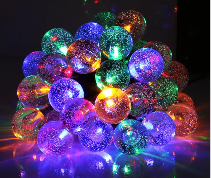Solar Ball LED Colors RGBWY