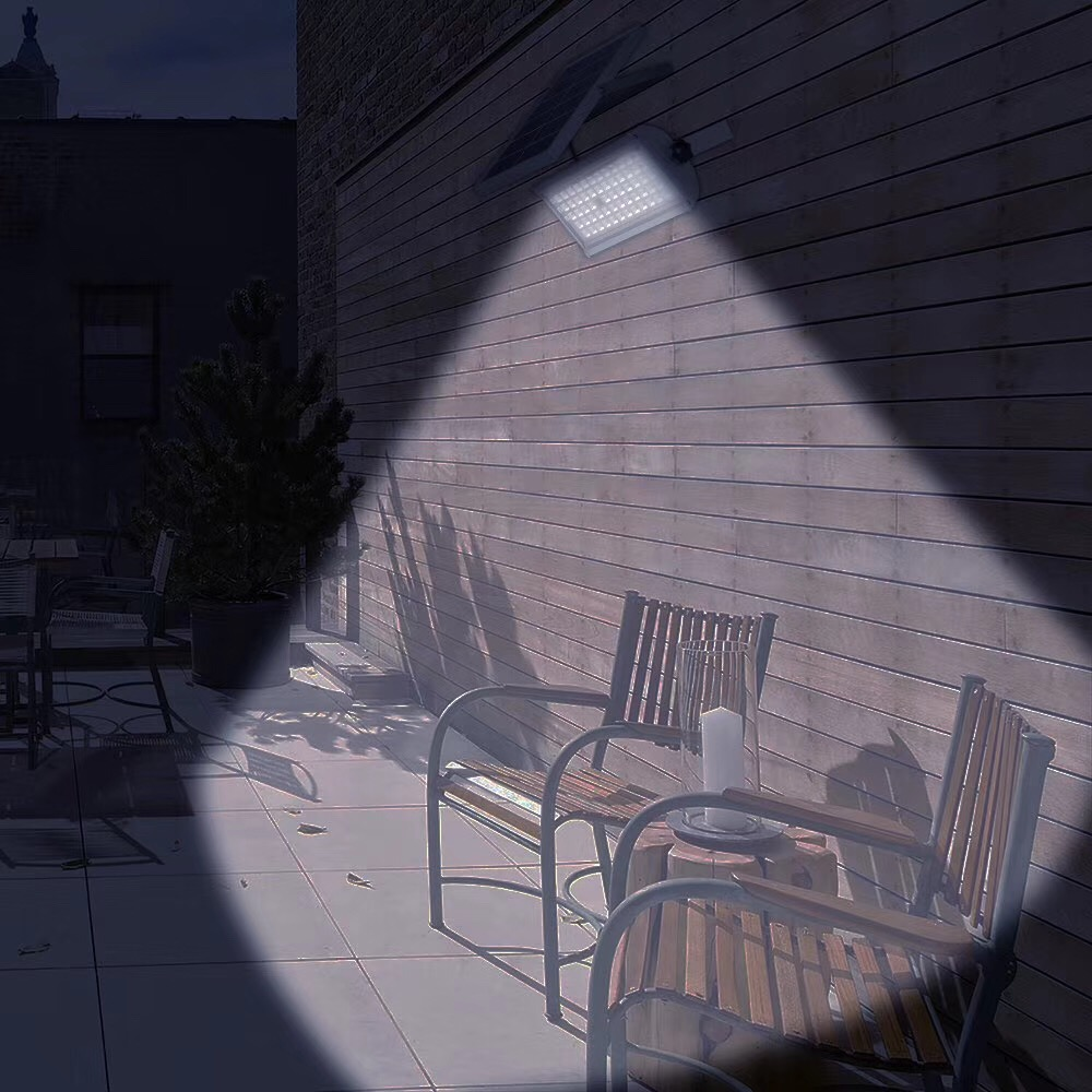 Remote Control Solar Projector Lamp 65LED