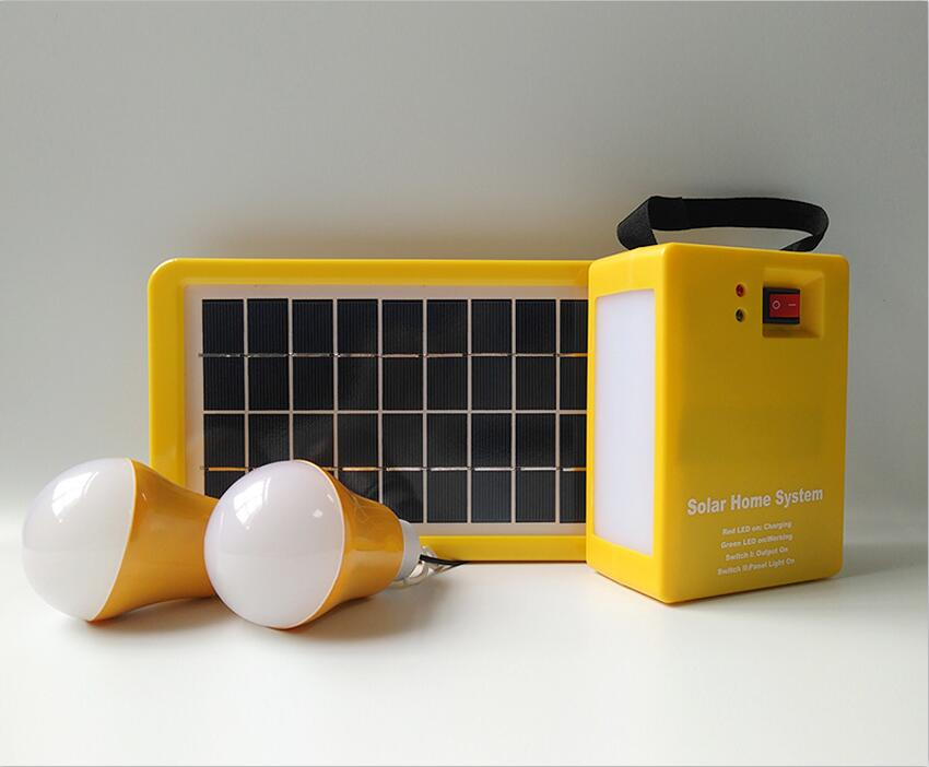 Solar Home System Side Lamp