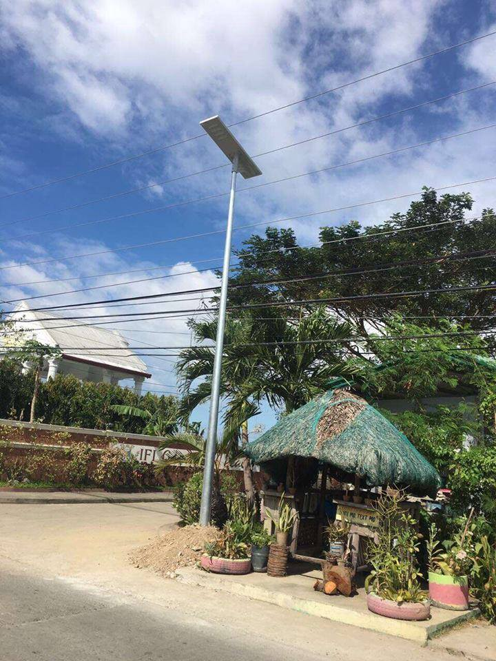 Project 80W solar street light