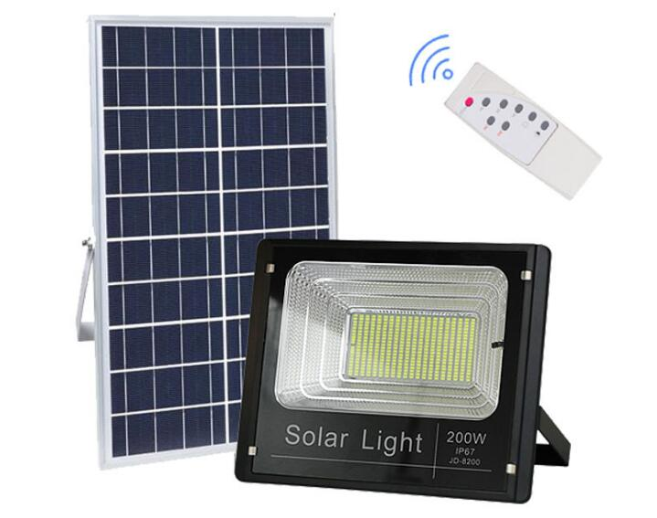 Remote Control Solar Light Projector 10W 25W 40W 60W 100W 200W